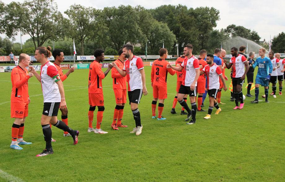 Doelpuntrijk gelijkspel tussen Smitshoek en SC Feyenoord