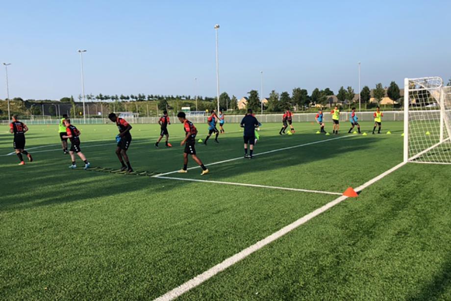 Selectie Smitshoek aan voorbereiding op nieuwe seizoen 2021/22 begonnen.