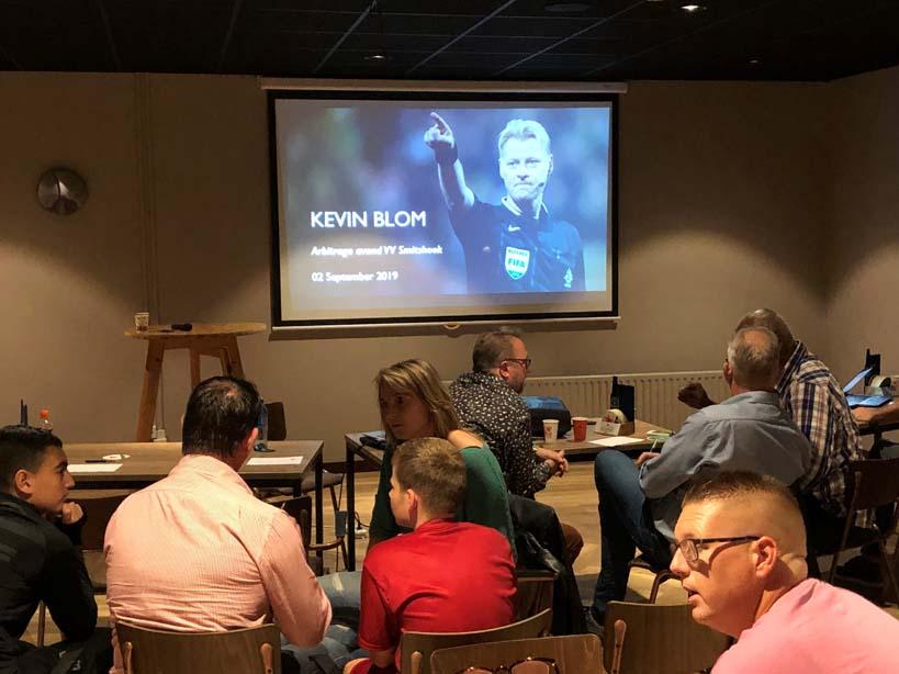 Aftrap van scheidsrechters activiteiten met Kevin Blom