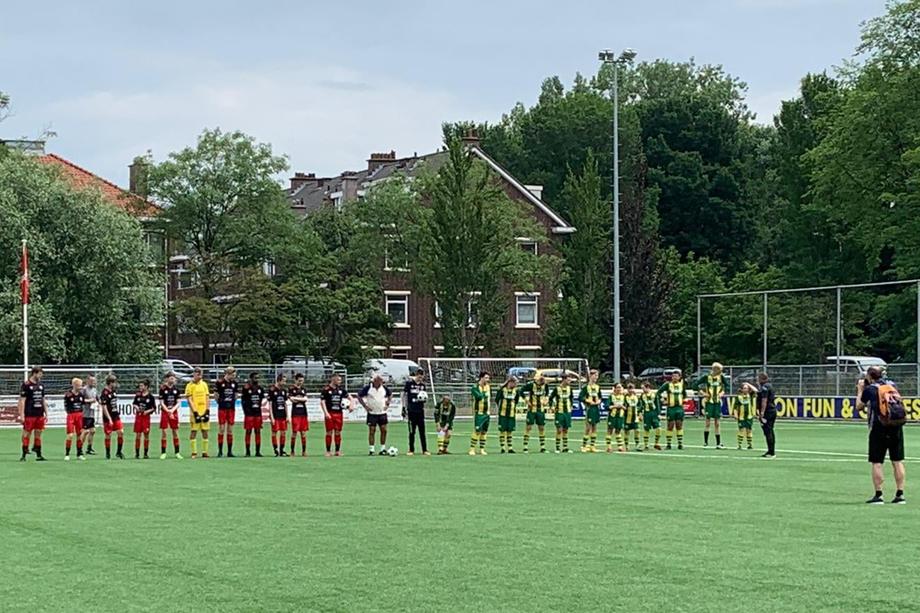 G-Voetballers van vv Smitshoek in Bijzondere Eredivisie