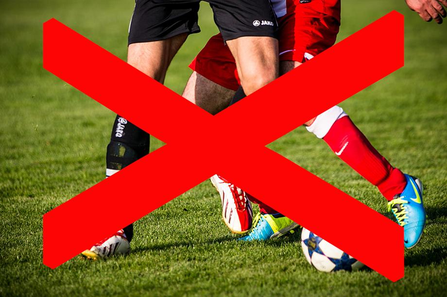 Geen voetbal meer voor wanbetalers