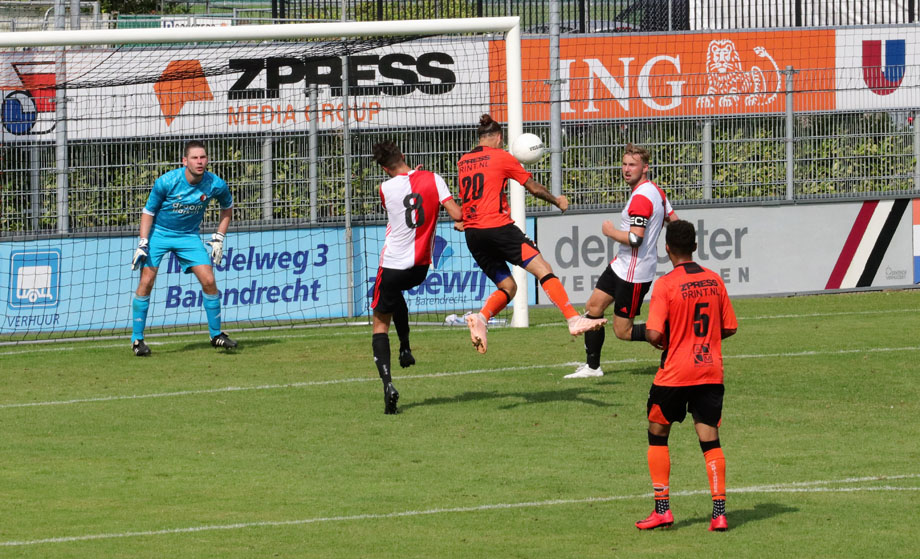 Verdienstelijk gelijkspel voor Smitshoek tegen SC Feyenoord