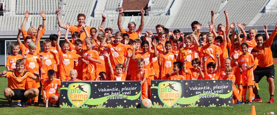 Zomer 2021: ProCamp voetbalkampen komt naar Smitshoek!
