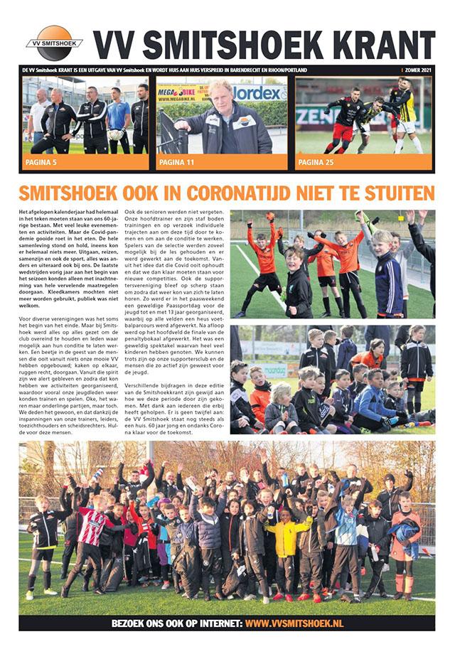 De VV Smitshoek krant is weer uit!